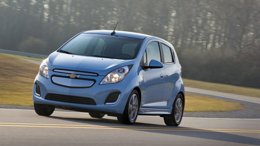 2014 Chevrolet Spark EV gets detailed