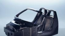 Carrera GT carbon fiber chassis