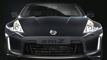2013 Nissan 370Z facelift teaser image enhanced