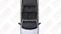 Volkswagen Golf R Cabrio patent photos 24.5.2012