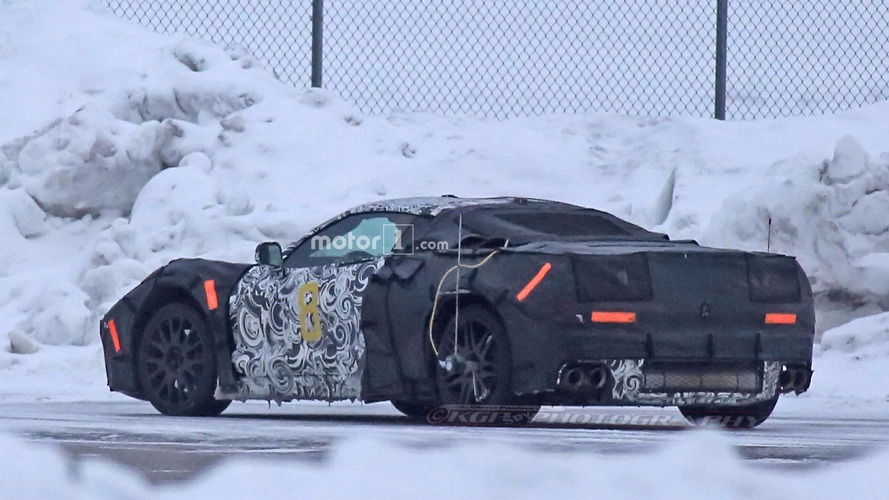 Chevy Corvette 2018 >> Mid-engine Chevy Corvette and next ZR1 spied testing together