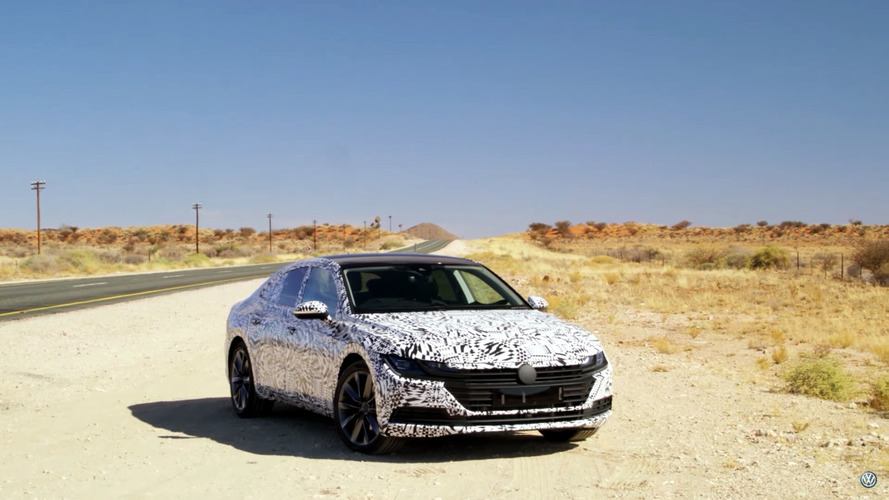 VW shows off Arteon, Tiguan Allspace, and Up GTI on video