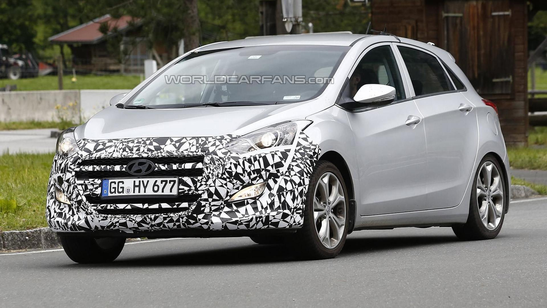 2015 Hyundai i30 facelift spied testing in Europe