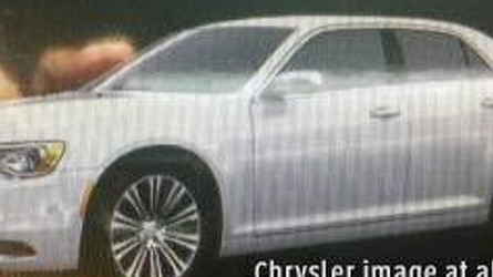 2015 Chrysler 300 facelift leaked?