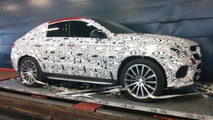 Mercedes MLC AMG spied again including first interior picture