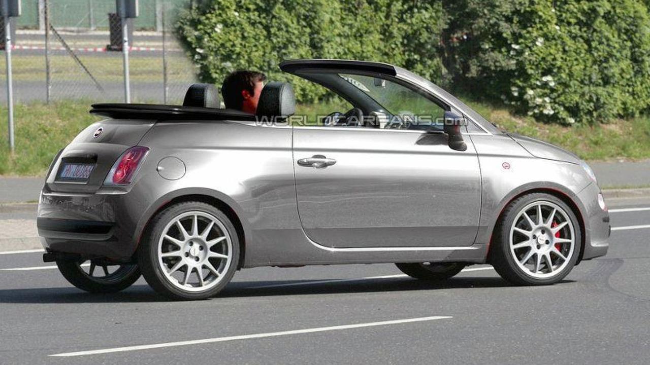 Fiat 500 Cabrio - artist impression