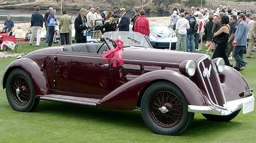 Mussolini's 1935 Alfa Romeo 6C 2300 Pescara Spyder set to fetch up to £800,000
