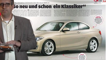 BMW 2-Series Coupe fully revealed by German magazine