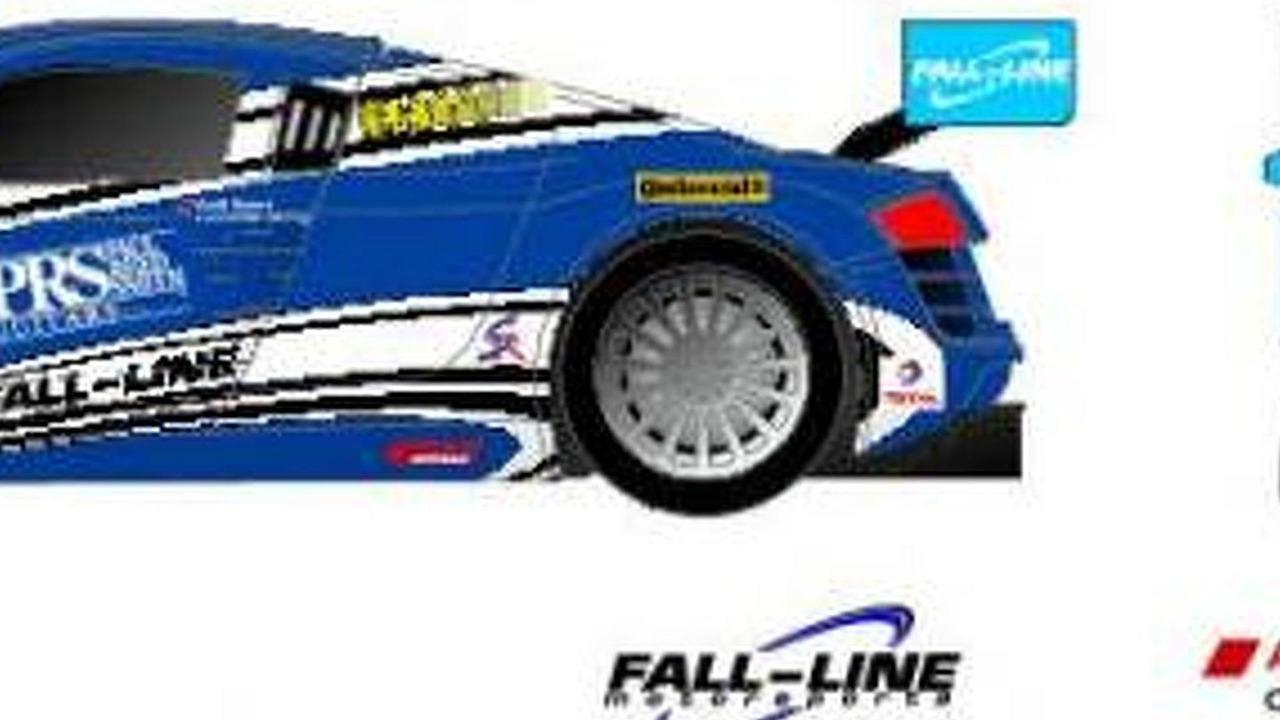 Fall-Line Motorsports Audi R8 #46