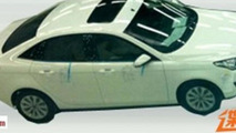 Ford Escort spied without camouflage