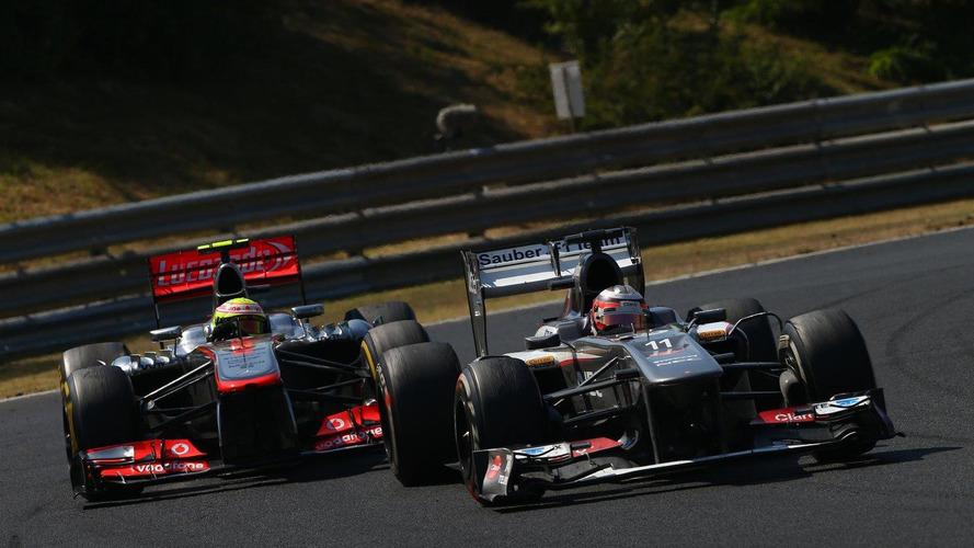Heavy Hulkenberg still on the scales at McLaren