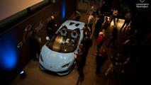 Lamborghini Huracan Spyder at Lamborghini Washington