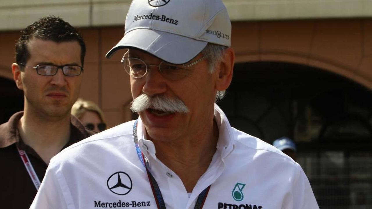 Dr. Dieter Zetsche (GER), Chairman of Daimler - Formula 1 World Championship, Rd 6, Monaco Grand Prix, Sunday, 16.05.2010 Monaco, Monte Carlo