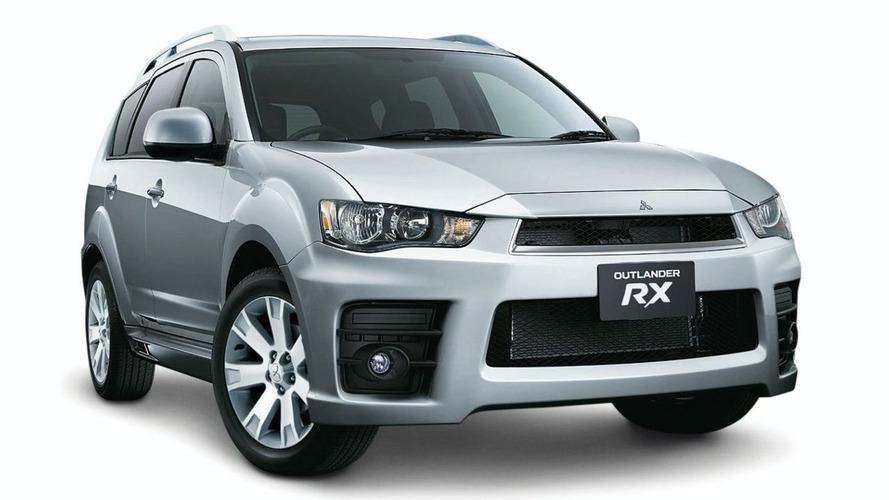2010 Mitsubishi Outlander RX Special Edition Gets Racing Look in Australia