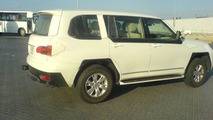 2010 Nissan Patrol spy photos in Dubai