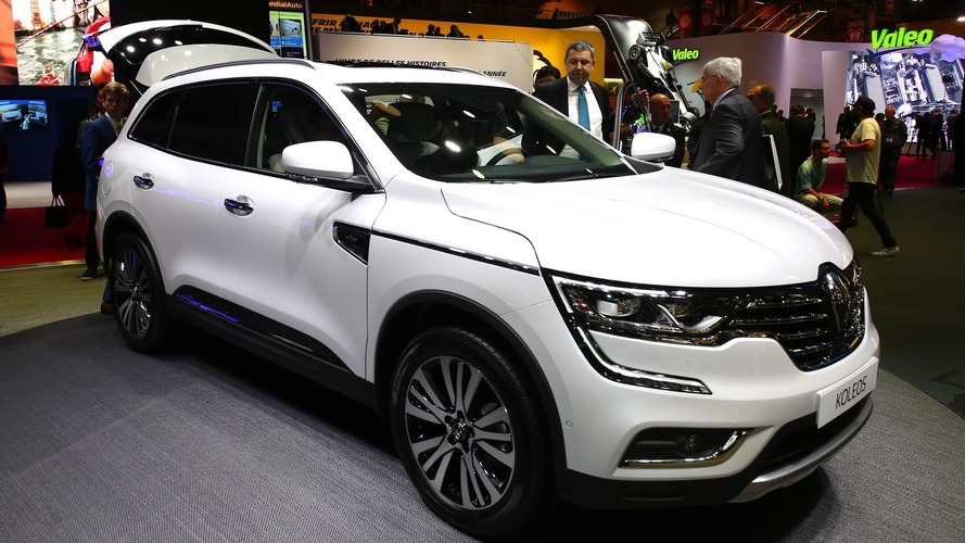 Renault Koleos SUV makes European debut in Paris