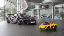 McLaren unveils all-electric P1... for six year olds