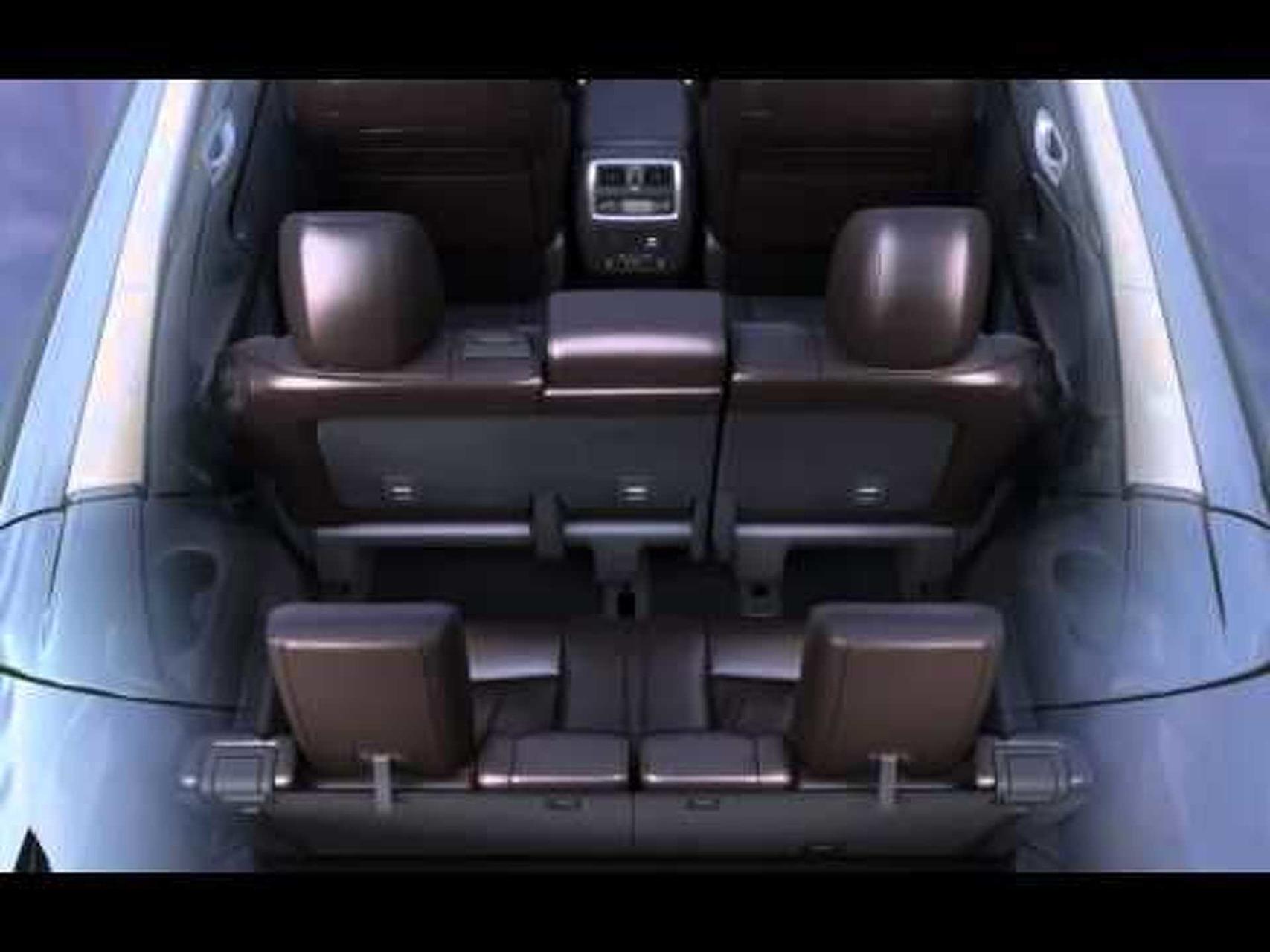 2013 Infiniti JX - 2nd Row Sliding Seats