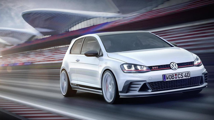 Volkswagen Golf GTI Clubsport concept officially revealed
