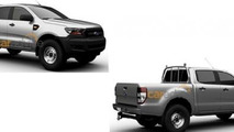 Facelifted Ford Ranger lineup revealed in patent images