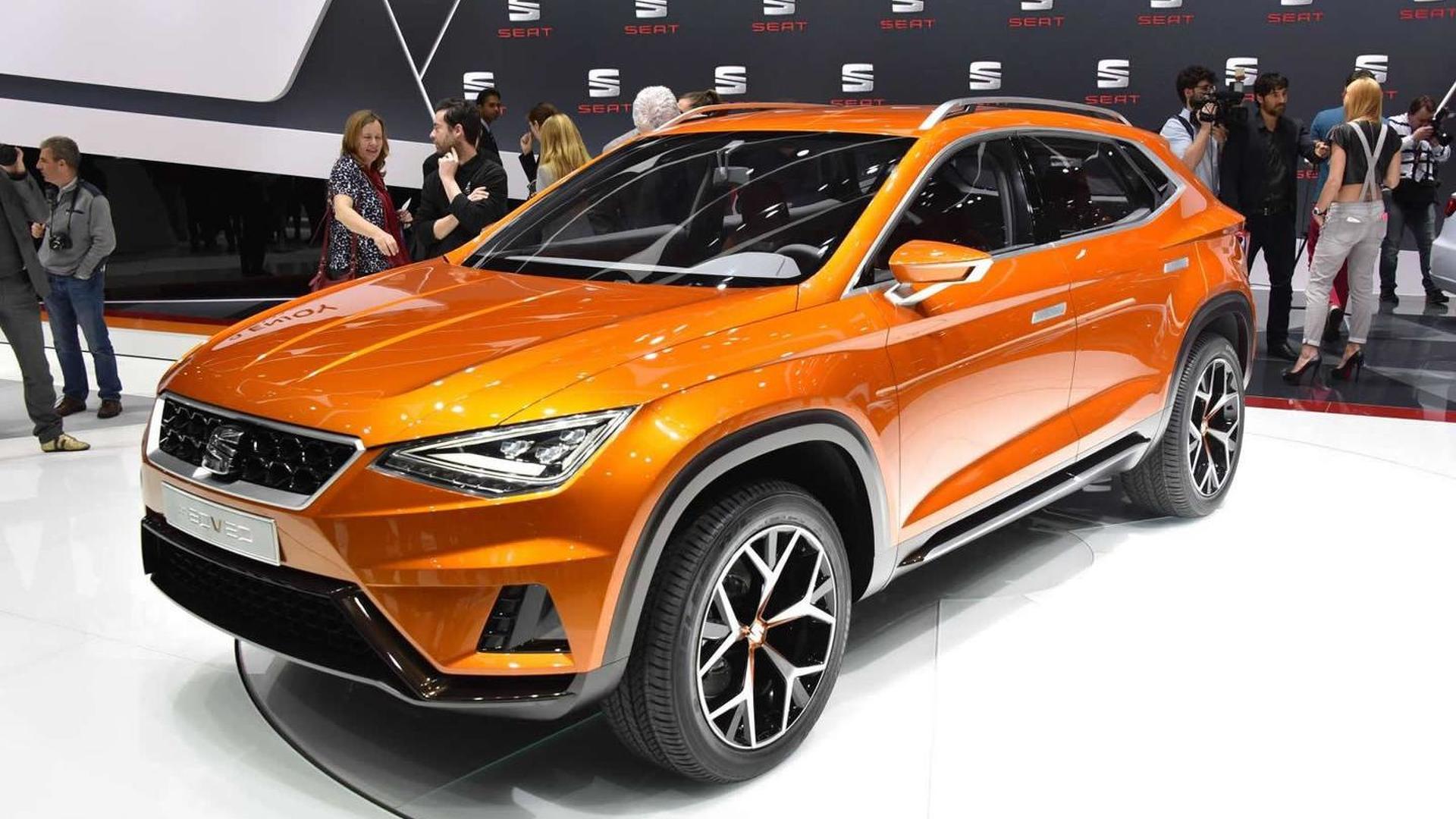 Seat 20V20 crossover concept premieres in Geneva