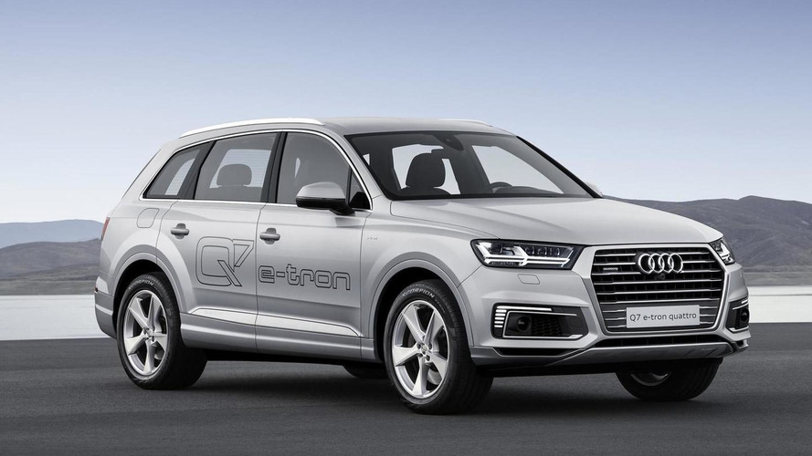 Audi prepares Q7 e-tron 2.0 TFSI quattro for Asian markets