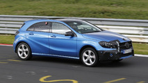 2016 Mercedes-Benz A-Class carries light camo during final Nurburgring testing [video]