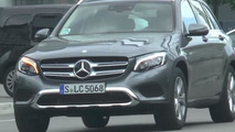 New Mercedes-Benz GLC spotted on the road for the first time [video]