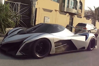See the Mythical 5,000HP Devel Sixteen in Action [Video]