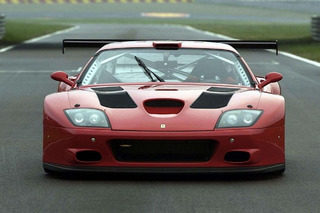 The 2004 Ferrari 575 GTC Aimed Straight For the Track
