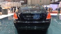 Rolls-Royce Wraith Black Badge live in Geneva