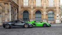 McLaren 675LT and 650S: Paris
