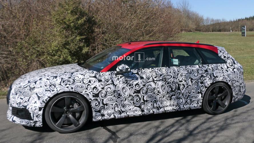 2018 Audi RS4 Avant Spied In Final Testing