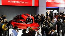 Ford Evos concept live in Frankfurt - 16.9.2011