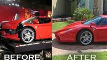 Ferrari Enzo Crashed by Eddie Griffin