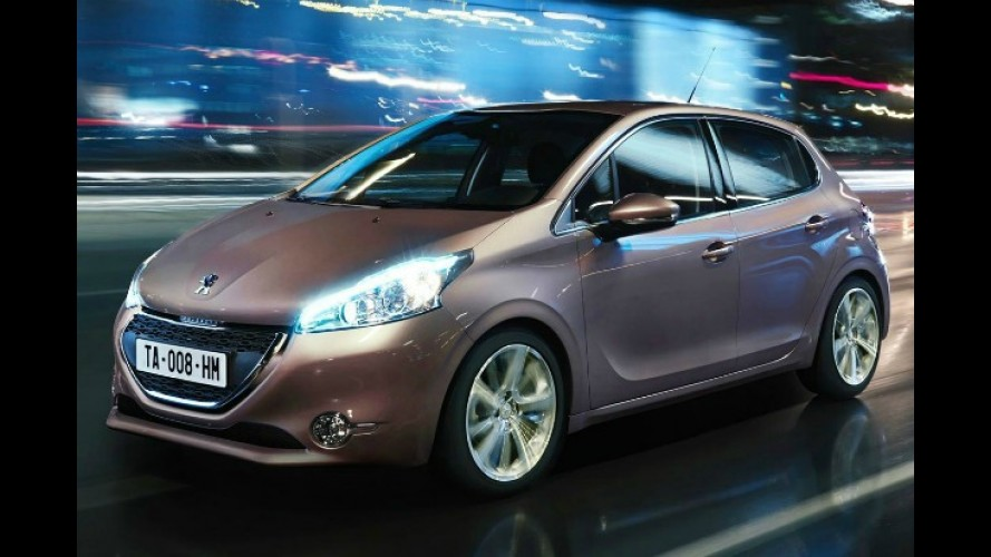 Este é o Novo Peugeot 208 - Fotos oficiais são divulgadas