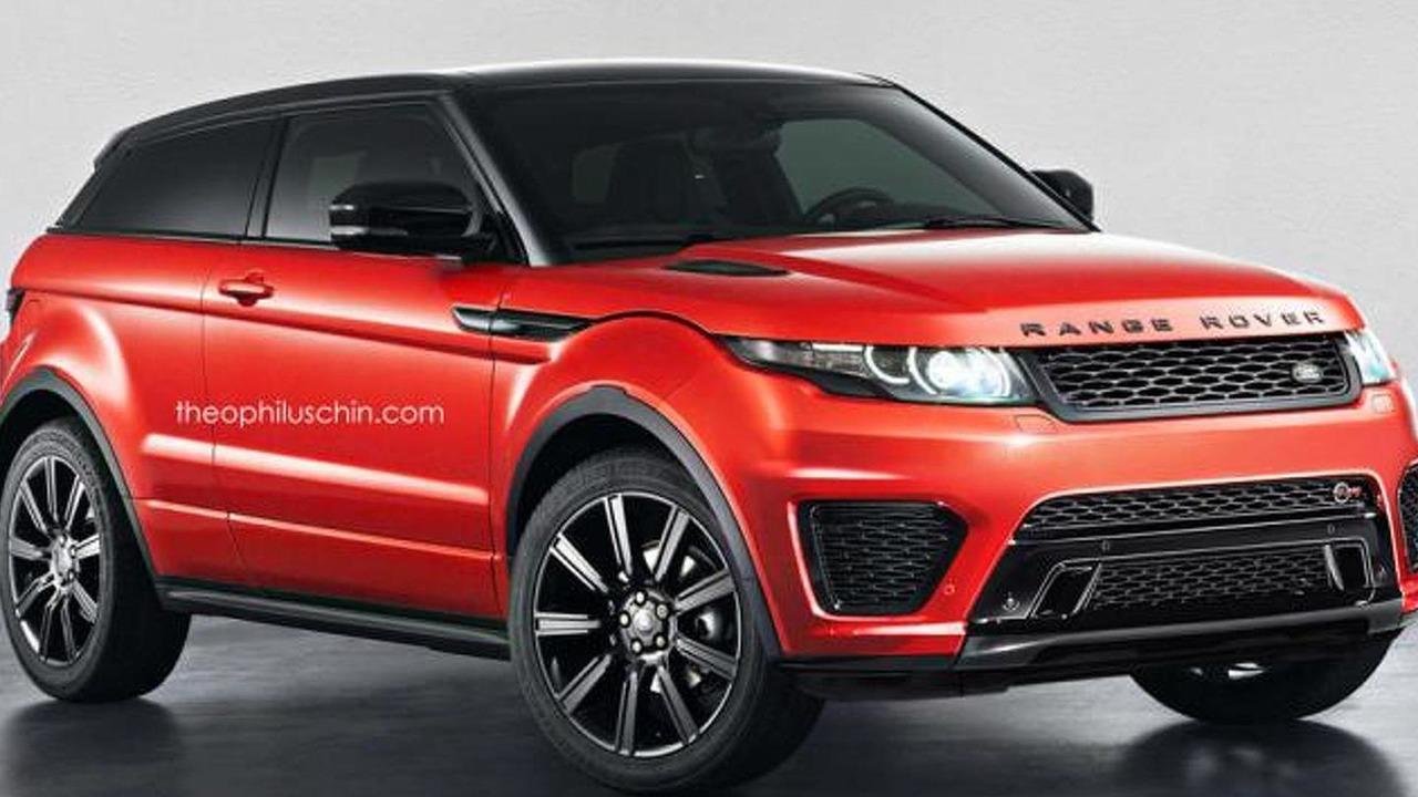 Range Rover Evoque SVR render
