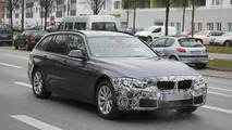 BMW 3-Series Touring facelift spy photo