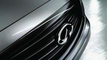 Infiniti QX70 S Design previewed ahead of Paris Motor Show premiere