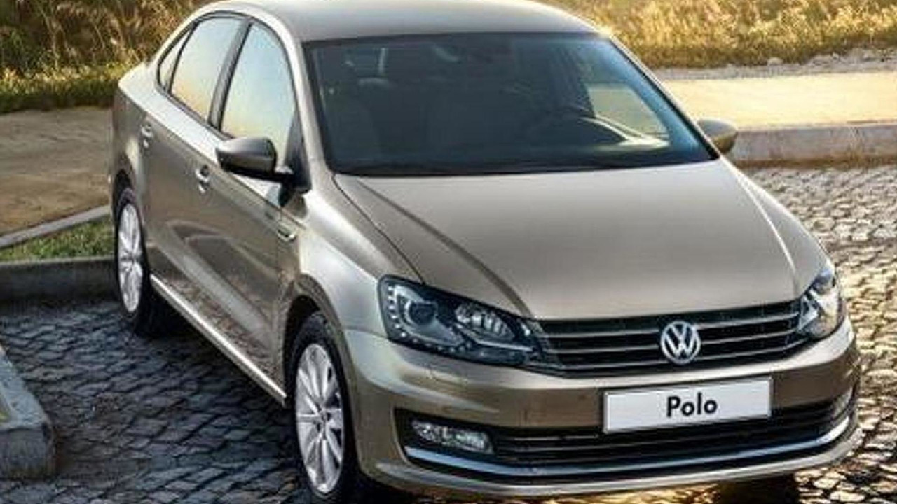 Volkswagen Polo Sedan facelift