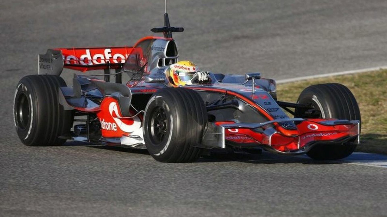 Vodafone McLaren Mercedes Driver Lewis Hamilton in the MP4-23