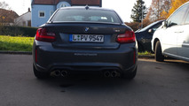 BMW M2 Mineral Grey seen in Germany