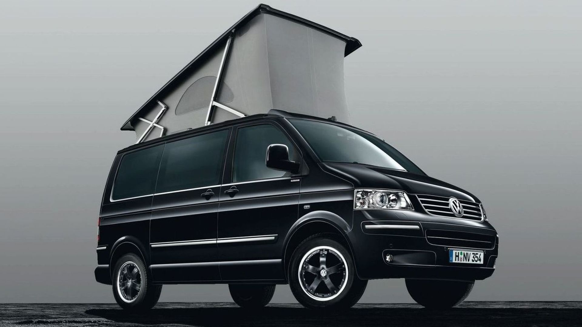 VW Releases California Black Edition in Germany