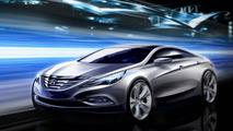 2011 Hyundai Sonata / i40 design sketches - hi res