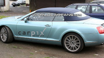 Bentley Continental GTC Speed Spy Photo