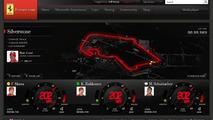 www.Ferrari.com pre-launch screenshots