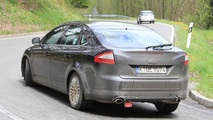 Ford Mondeo Facelift Spied showing new rear design for first time
