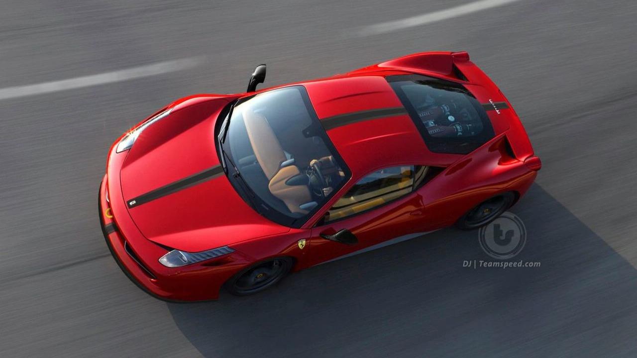Ferrari 458 Italia Sucderia Artists Rendering