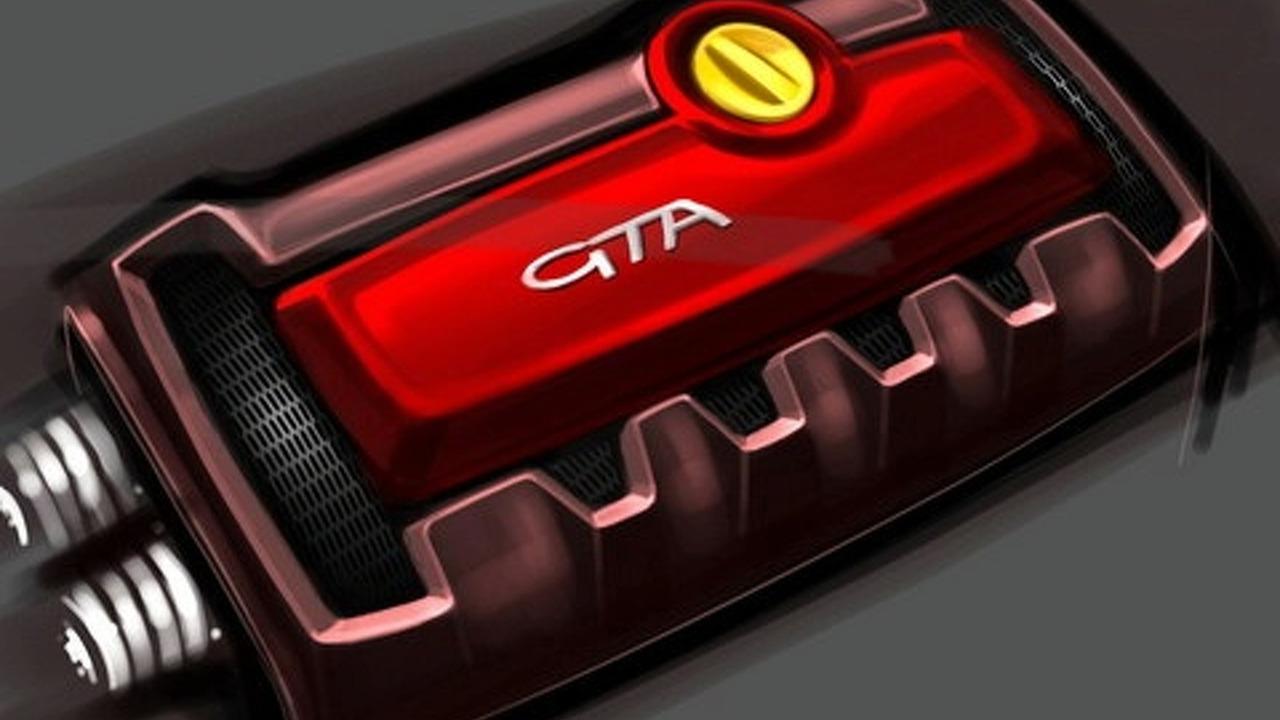 Afa Romeo MiTo GTA teaser sketches