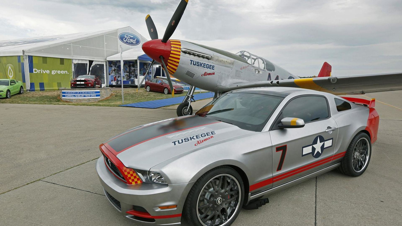 Ford Mustang Red Tails Edition 23.7.2012